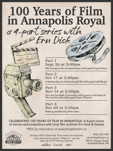 100 YEARS OF FILM IN ANNAPOLIS with Ern Dick: Part  4